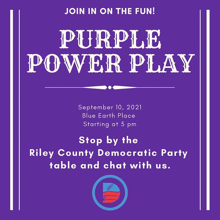 Purple Power Play
