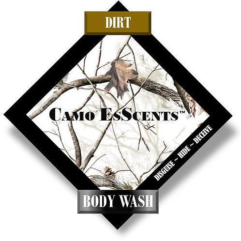 Dirt Scent Body Wash
