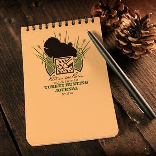 Turkey Hunting Journal