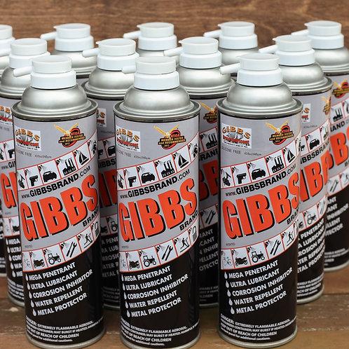 Gibbs Brand - (Bulk) One Dozen 12oz Cans
