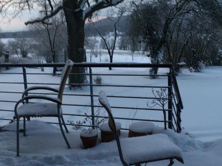 Der Schnee ... welch eine Pracht!