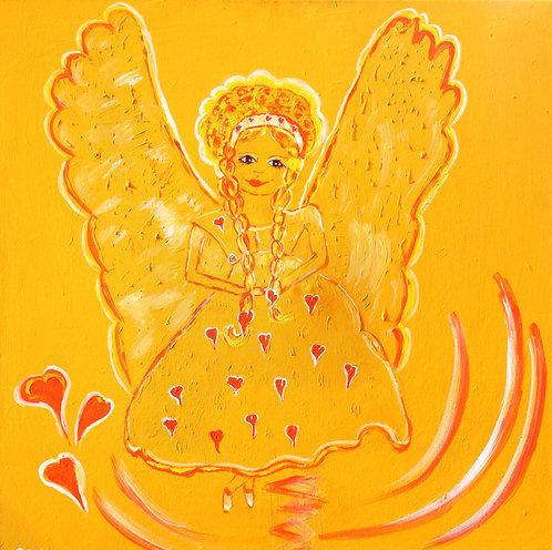 Engel der Lebensfreude