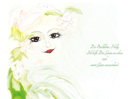 Bachblüte Holly Leinwanddruck