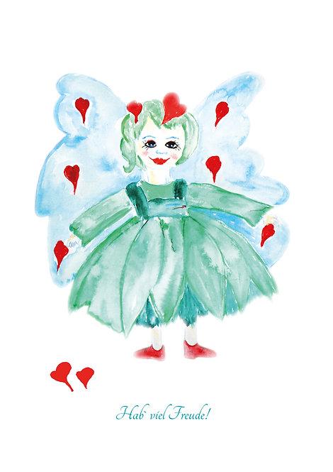 Die kleine Elfe der Freude