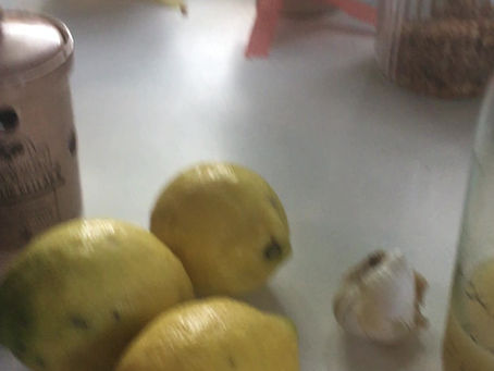 Gesundheitstipp #8: Die Zitronen-Knoblauch-Kur