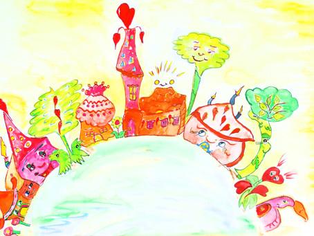 Einen lieben Sonntagsgruß aus der Kinderwelt!