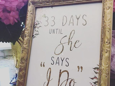 How many days until your big day_! 💘🍾?