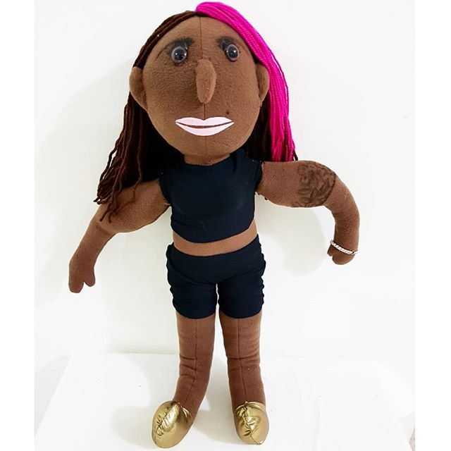 self portrait doll