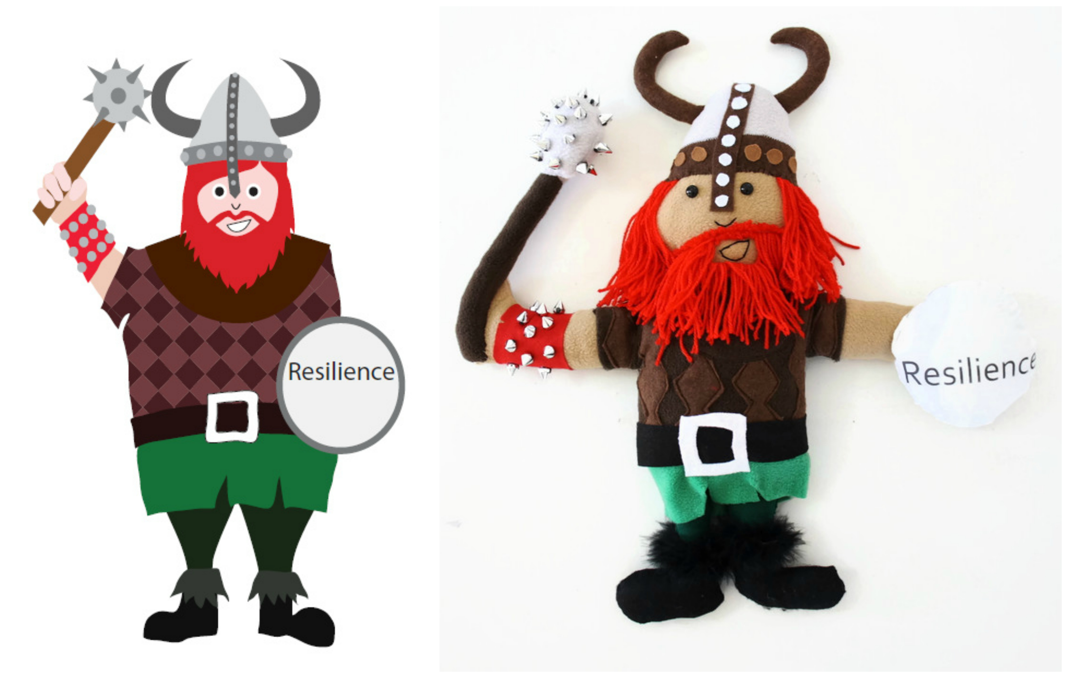 Viking doll