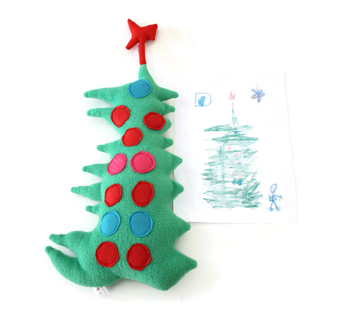 custom doll xmas tree