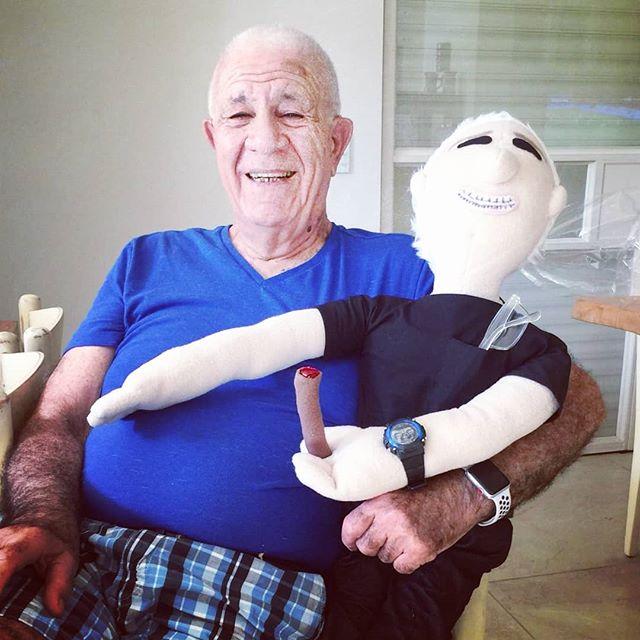 grandpa plush