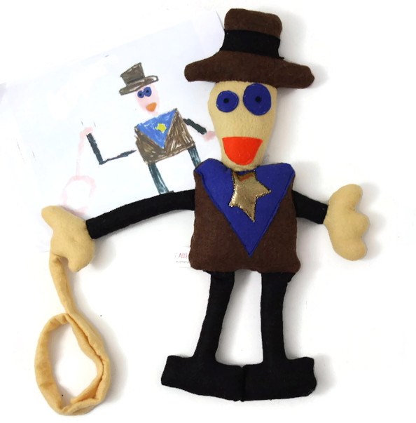 custom doll sheriff
