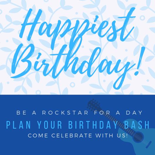 PLAN YOUR BIRTHDAY BASH