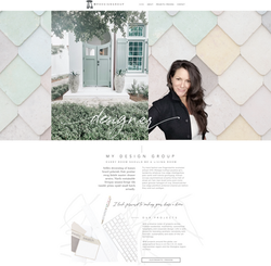 Dana Hendrickson_Soulfire Creative_Interior Design_Custom Website Design Template