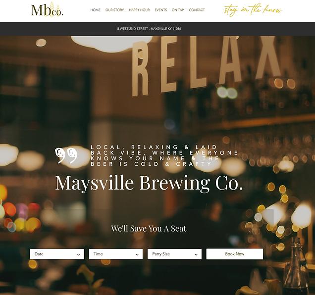 Brewery Website Template_Dana Hendrickso