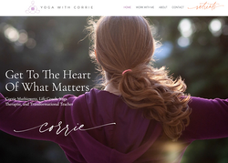 Dana Hendrickson_Soulfire Creative_Personal Brand Custom Website Design