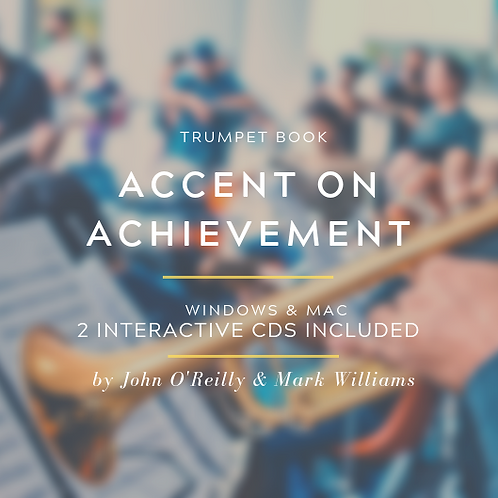 ACCENT ON ACHIEVEMENT TRUMPET BOOKS