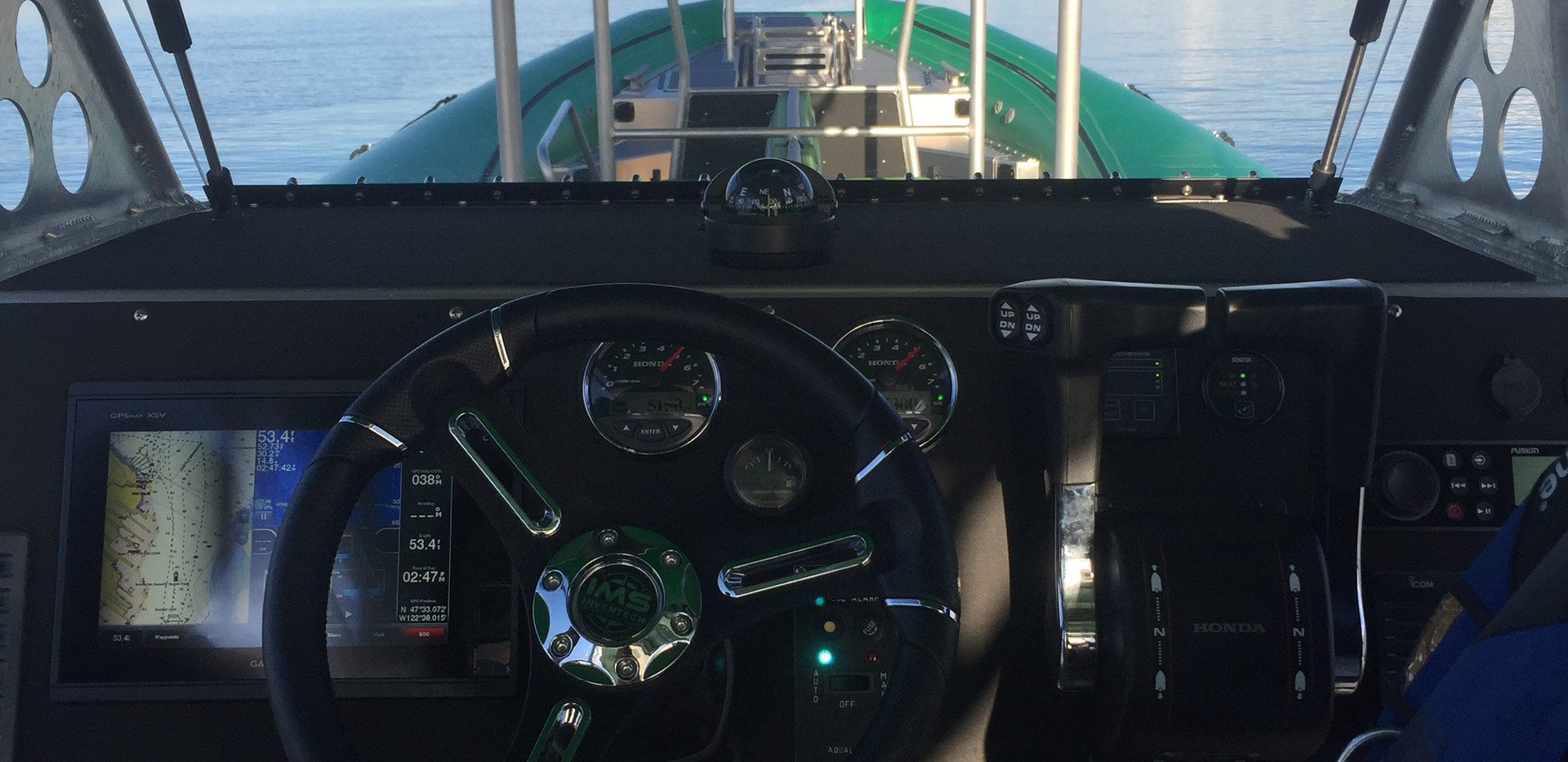 From the Helm