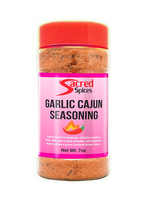Garlic Cajun Seasoning