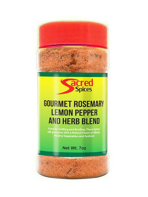 Gourmet Rosemary Lemon Pepper and Herb Blend