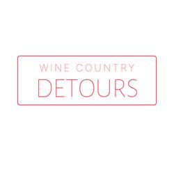 Wine Country Detours Logo White Bkgrd
