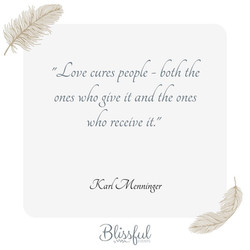 Blissful Events Quote
