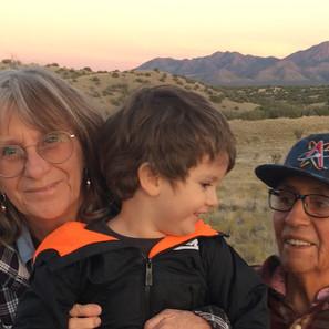 Hamaatsa Founders, Deborah and Larry Littlebird nurturing the next generation.