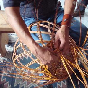 Red Willow basketmaking workshop at Hamaatsa.