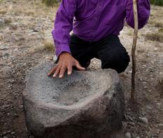 Larry Littlebird at water stone