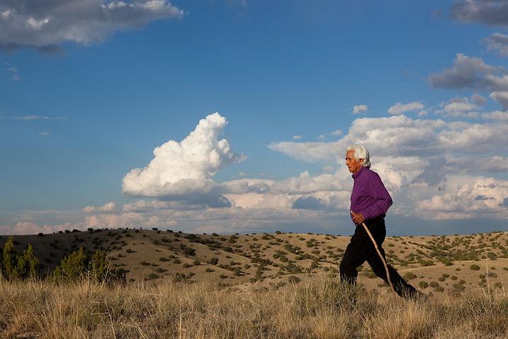 Pueblo Elder/Hamaatsa Founder, Larry Littlebird