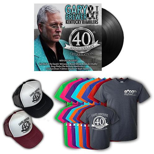 40th Anniversary Celebration Autographed Vinyl Bundle