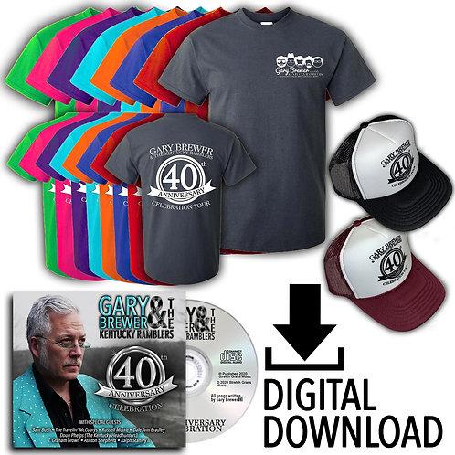 40th Anniversary Celebration Digital CD Bundle