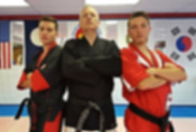The Brewer's Tae Kwon Do instructors