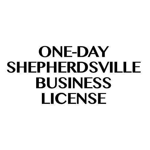 One-Day Shepherdsville Business License