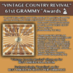 Vintage Country Revival Grammy Graphic.j