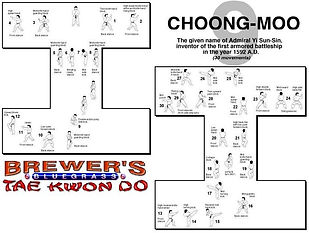Brewer's Tae Kwon Do- Choong moo form