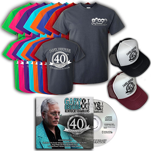 40th Anniversary Celebration Autographed CD Bundle