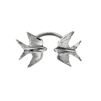 Безразмерное кольцо с маленькими ласточками