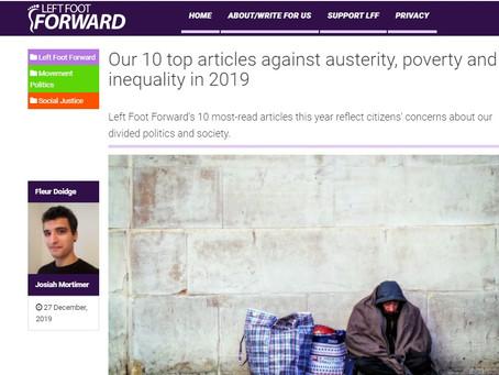 News round-up - 27 December 2019 (LeftFootForward)