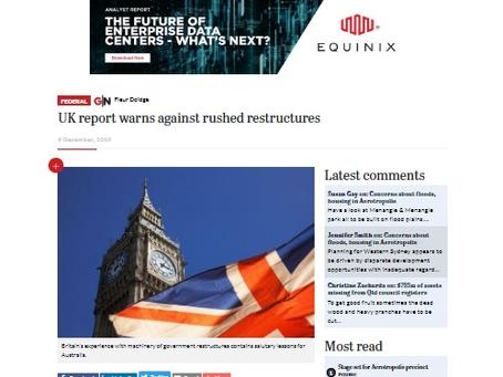Feature - 9 December 2019 (Government News Australia)