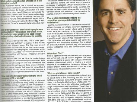 Interview - 28 November 2007 (ARN)