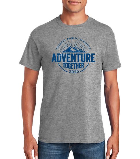 Adventure Together 5.3oz Unisex Cotton Tee