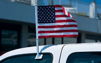 Clip-On U.S. Flag {EZ415}