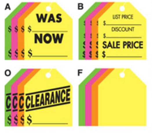 Large Rearview Mirror Tags {EZ203}