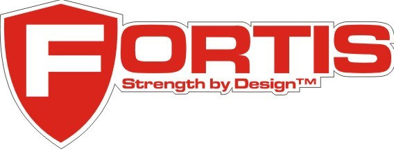 Fortis Logo Decal Peel and Stick