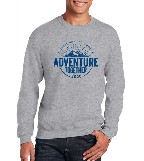 Adventure Together 8oz Unisex Cotton Pullover Sweatshirt