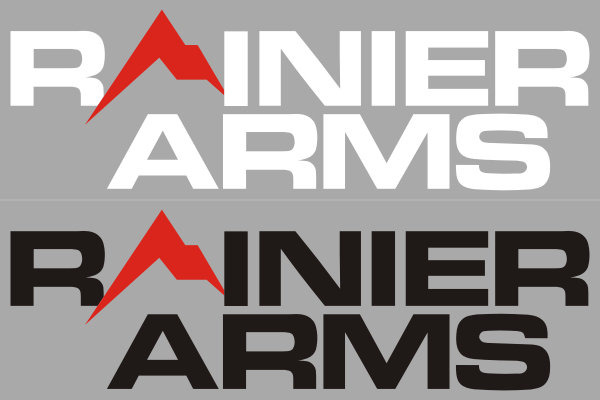 Rainier Arms Logo Decals