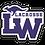 Thumbnail: Lake Washington Lacrosse Car Decal