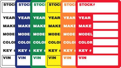 Stock Stickers {EZ409}