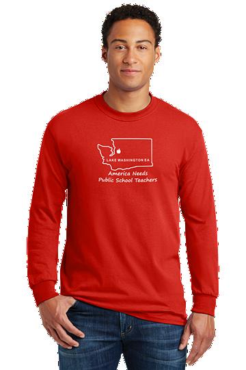 Gildan® - Heavy Cotton™ 100% Cotton Long Sleeve Unisex T-Shirt